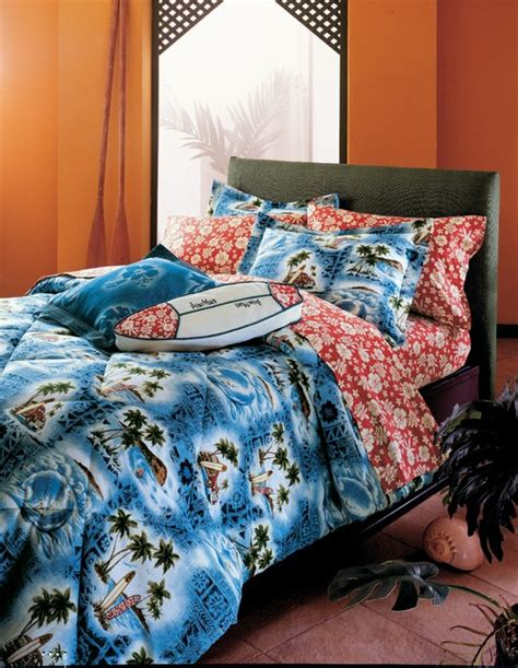 hawaiian bedding hawaiian bedding tropical bedroom orange county by dean miller surf bedding