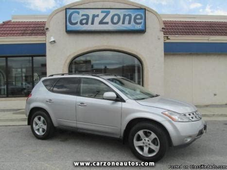 how cars engines work 2005 nissan murano navigation system nissan murano 2005 maryland cars for sale