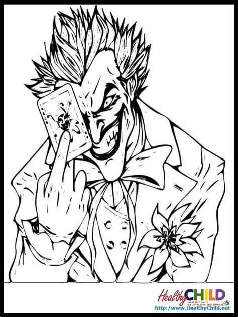 cute joker coloring pages the joker batman coloring pages coloring home