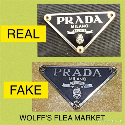 How To If Your Handbag Is Real Or by Real Vs Prada Tag Counterfeit Education The Bad