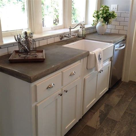 Concrete Countertop With Sink by Best 20 Concrete Countertops Ideas On