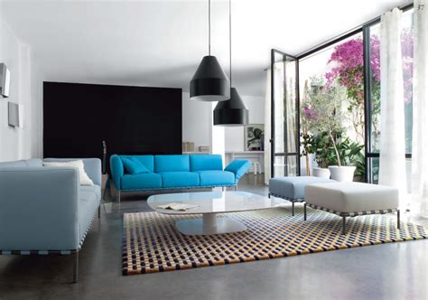 Blue And Black Living Room Decorating Ideas by 403 Forbidden