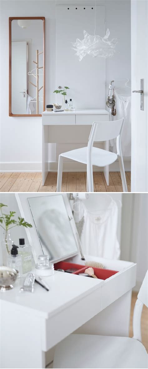 makeup table ikea malaysia brimnes dressing table white dressing tables clutter