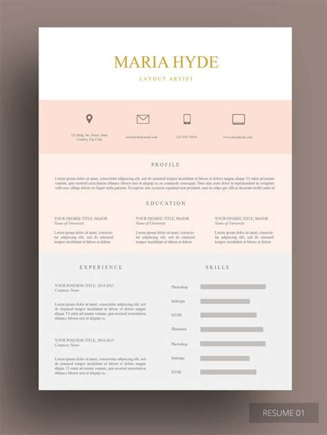 stunning resume templates 17 best images about resume templates on keep going cover letter template and cv design