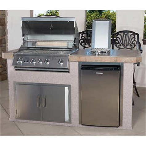 islands 4 burner 6 outdoor kitchen island by bull
