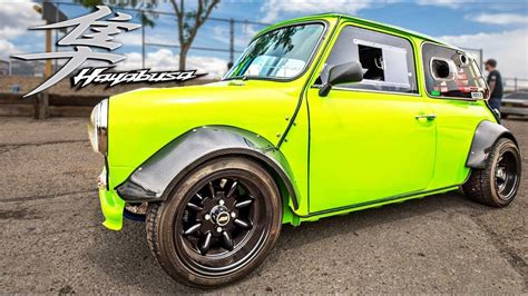 Minis Hit The High St by Misc Dragtimes Drag Racing Fast Cars Cars