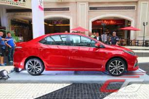 Toyota Altis Philippines Price Toyota Motor Philippines Gives 2017 Corolla Altis An A