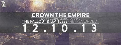 crown the empire breaking point review crown the empire the fallout limitless deluxe