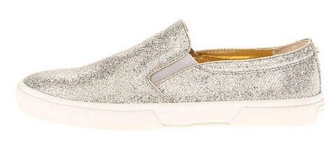 michael kors glitter sneakers womens shoes michael kors boerum slip on sneakers silver