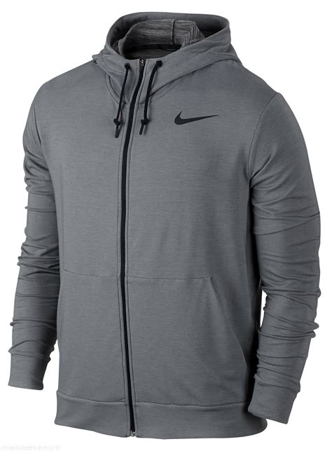 Hoodie Sweater Nike Original Size M Thermafit hooded sweatshirt nike dri fit fleece fz hdy