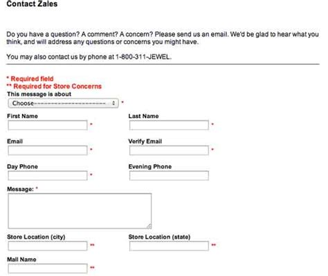 email zales zales pay card