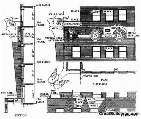 chrysler building floor plans gallery of ad classics chrysler building william van