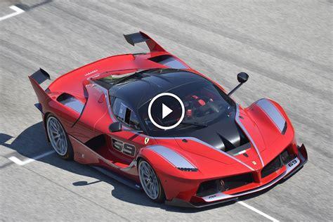 L Ferrari Fxx by Ferrari Fxx K L Incredibile Video Spia Della Versione