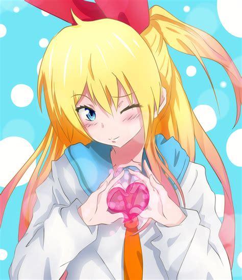 Kaos Anime Fullprint Nisekoi Chitoge Kirisaki 1 chitoge kirisaki nisekoi by kekoart97 on deviantart