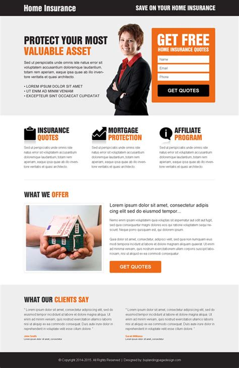 landing page design template landing page design templates special 20 discount offer