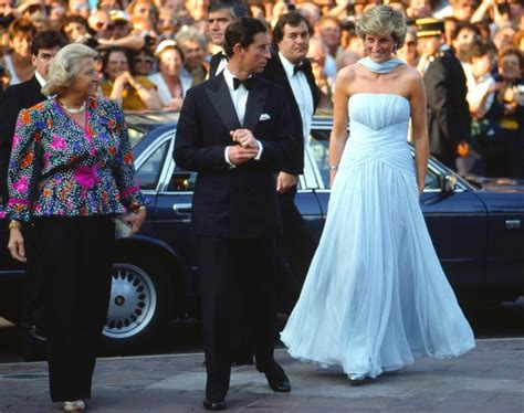 princess diana and charles 15 may 1987 prince charles and princess diana at the 40th