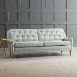 tufted loveseat gray gray tufted sofa top sofas styling fabric sofas sofa