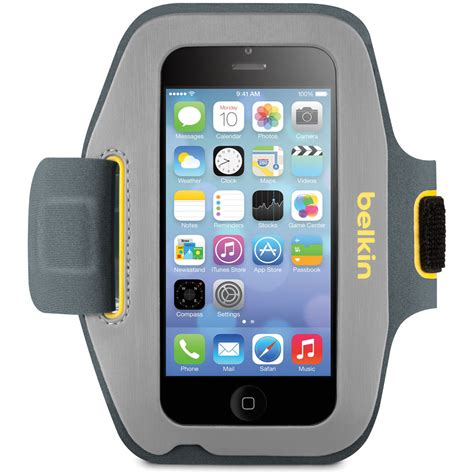belkin sport fit armband for iphone 5 5s 5c se 5th f8w367btc02