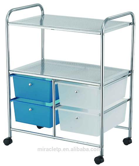 4 drawer cart with wheels plastic storage trolley on wheels best storage design 2017