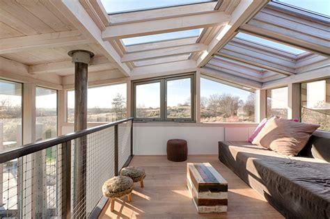 dream holiday home design  loft  glass ceiling
