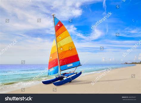 catamaran sailing fort myers florida fort myers beach catamaran sailboat stock photo