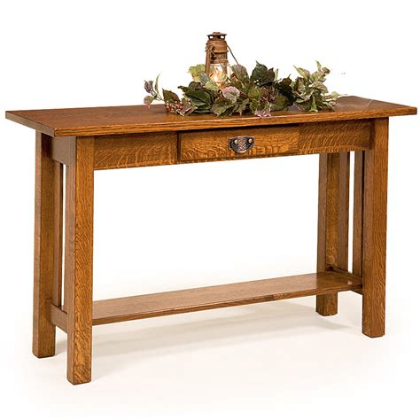 Table San Rafael by Sofa Table Console Table Occasional Table Amish Mission