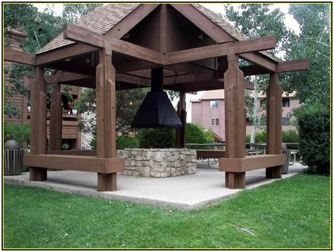 outdoor gazebo designs classic outdoor gazebo designs with pit idea picture