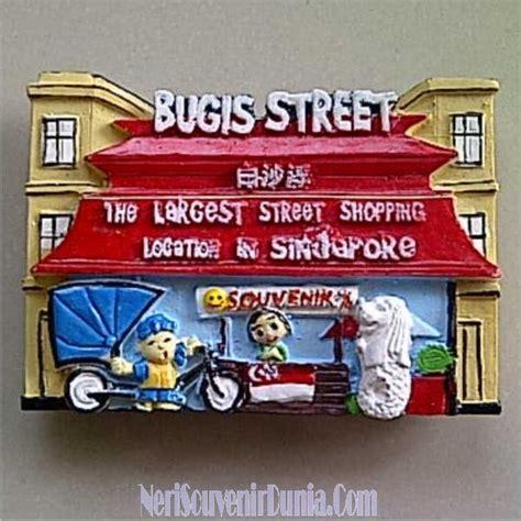 Hiasan Magnet Kulkas Singapore Souvenir Mancanegara jual souvenir magnet kulkas bugis singapore