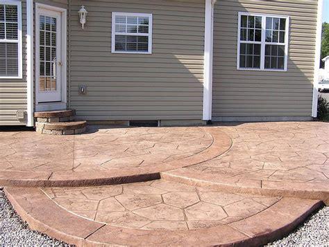How To Paint Patio Concrete by Outdoor Concrete Patio Paint Home Design Ideas