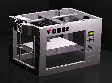 free 3d printer cube the 3d printed 3d printer free 3d model 3d printable max stl blend cgtrader