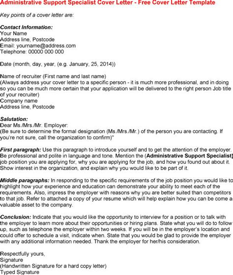 admin support cover letter best photos of letter of interest administrative
