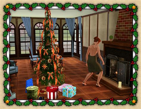 christmas decorations on sims 3 around the sims 3 custom content downloads objects