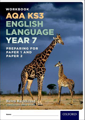 libro aqa ks3 english language aqa ks3 english language year 7 test workbook pack of 15 oxford university press