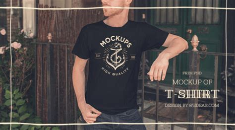 Kaos Graphic 25 28 of the best t shirt mockup psd templates for designers