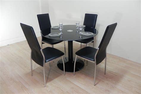 mesa comedor redonda cristal mesas redondas de cristal de comedor fabulous mesa de