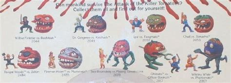 killer tomato toys the killers tomatoes and the o jays on
