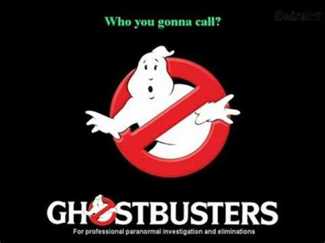 film ghost theme song ghostbusters theme youtube