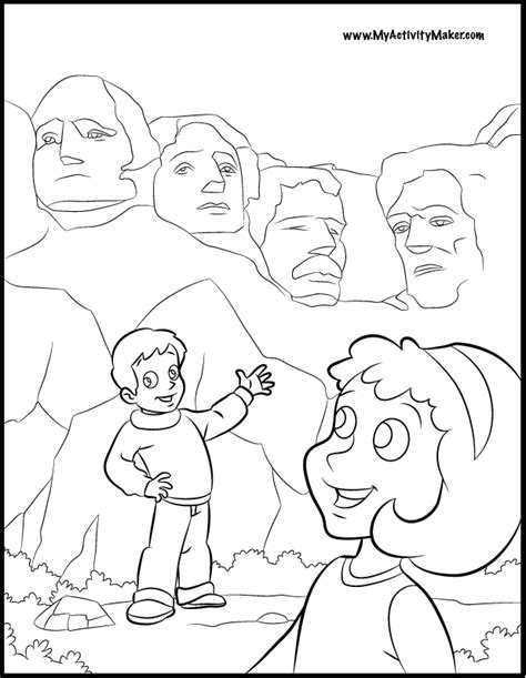 coloring pages for presidents day coloring home