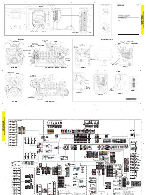 caterpillar 3516 generator wiring diagrams caterpillar