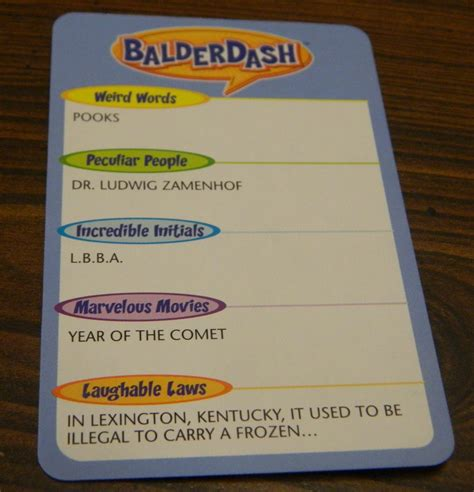 film initials quiz answers balderdash board game review and rules geeky hobbies