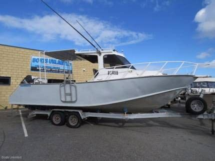 boats unlimited wangara jackman 8 0m hard top plate alloy great fishing diving