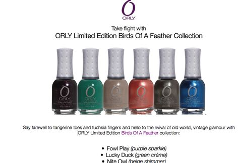 Dijamin Light As A Feather Orly Breathable 18ml vintage musings of a modern pinup orly peachy parrot birds of a feather collection