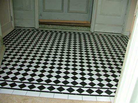 Tiled Kitchen Ideas Ceramic Black Amp White Heritage Tiling Amp Restoration
