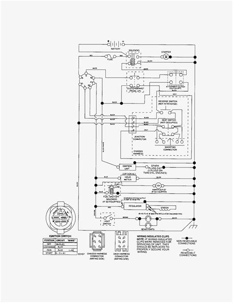 murray starter solenoid wiring diagram k