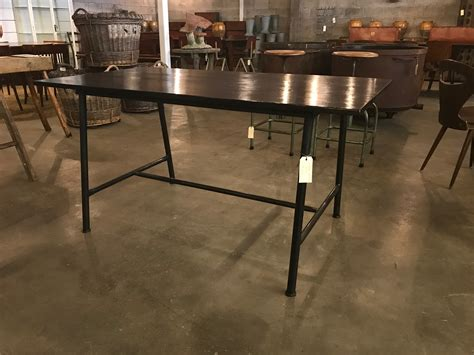 small industrial dining table small industrial dining table in sold vitrine