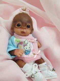 puppy monkey baby doll custom made to order reborn puppy doll vinyl princess pug kit princesses