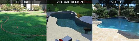 3d landscape design virtual presentation studio presents hilton head virtual pool design savannah 3d pool design
