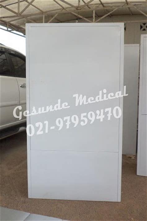 Lemari Kaca Rumah Sakit lemari instrument 2 pintu toko medis jual alat kesehatan
