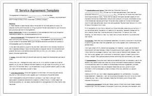 Business Service Contract Template Contract Templates Guidelines And Templates For Drafting