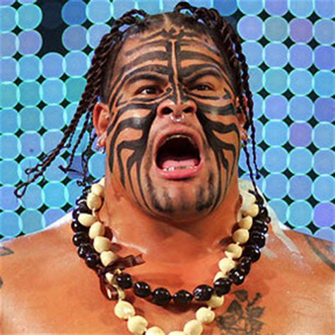 wwe umaga face paint world wrestling entertainment american professional